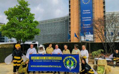Belgique, 2ème Etat à atteindre son quorum pour l'ICE « Sauvons les abeilles et les agriculteurs »